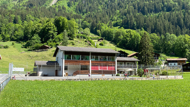 Schulhaus Burglauenen